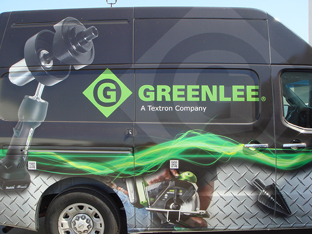 The Greenlee truck can go anywhere.