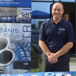 At the Tanis booth is Dave Schill Director of Sales.