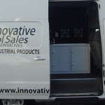 Innovative Tool Sales truck was on site for customers to take a look at the capabilities of the mobile showroom.