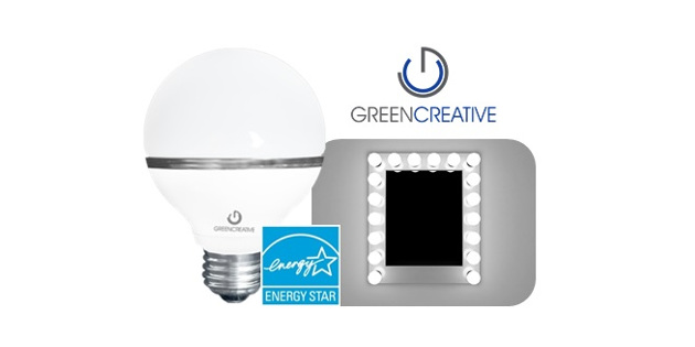 GREEN CREATIVE'S New LED G25 60W Replacement Bulb
