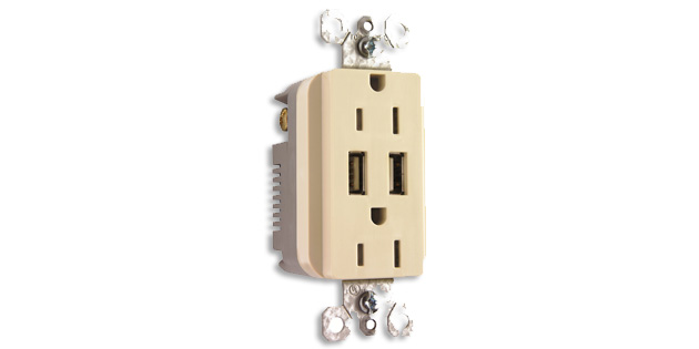 LEGRAND INTRODUCES NEW DUPLEX USB CHARGER photo