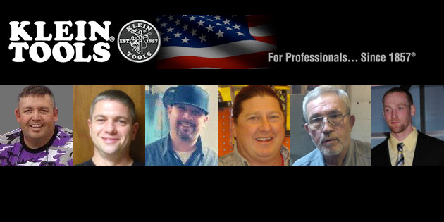 Klein Tools Names Six Finalists for the 2013 Electrician of the Year Award