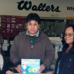 Walters collects $250 worth of toys for the Toys for Tots Program